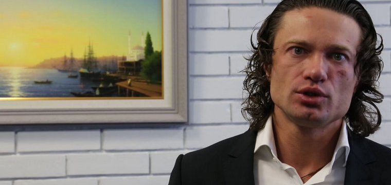 Культурист и бизнесмен