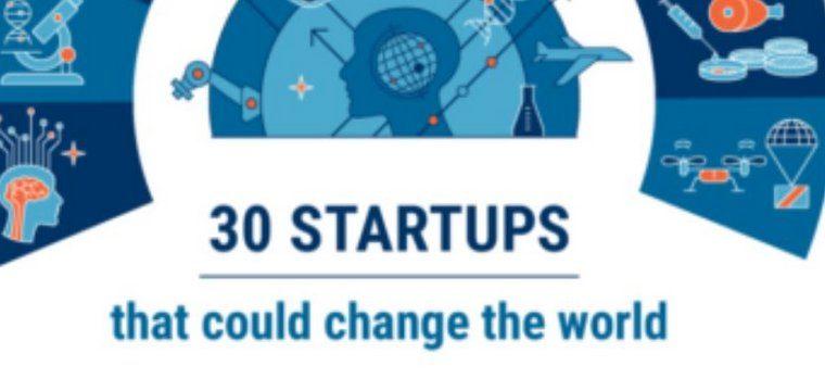30 стартапов, которые могут изменить мир